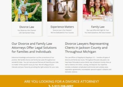 Website for Attorneys