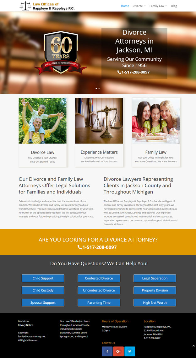 Website for Attorneys