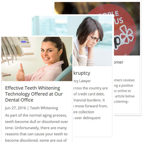 Content Marketing to Social Media Accounts - Novi Michigan Web