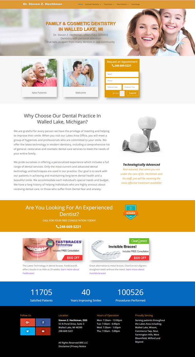 Website for Dentists