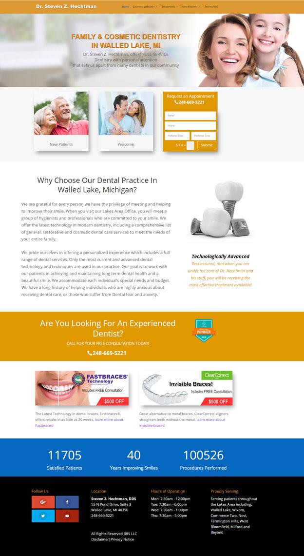 Website for Dentists