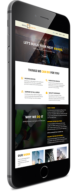 Contractor Website Designers based in Michigan Offering Mobile Responsive Design