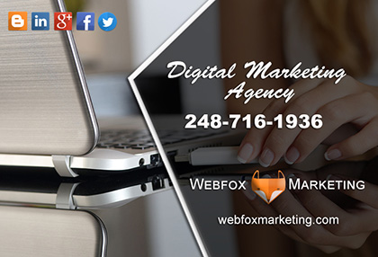 Farmington Hills MI Webfox Marketing Website designers and SEO