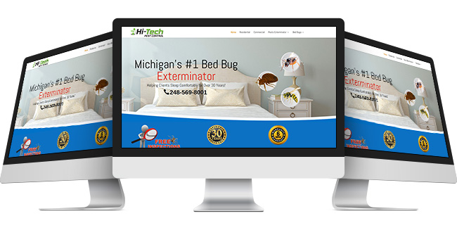 Website Company located near Waterford Township MI