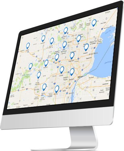 Lead Generation for businesses near Novi MI with large service area