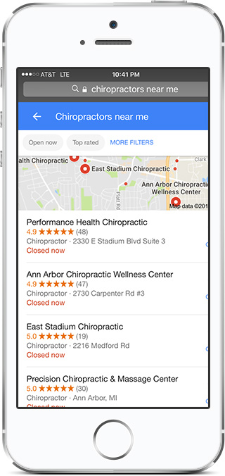 Chiropractor Marketing Company and Website designers SEO