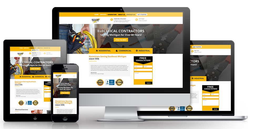 web sites for contractors