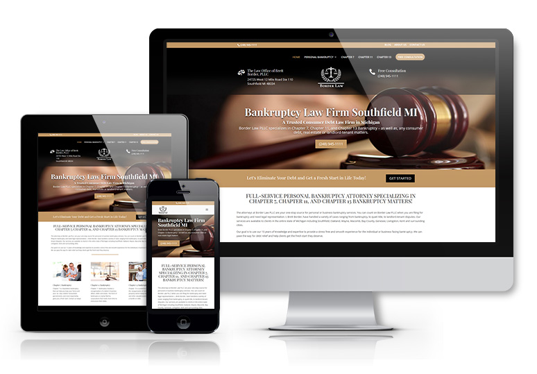 Website and SEO for law firm in Southfield Michigan