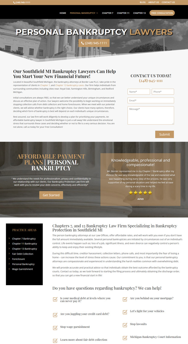 Web designers for Attorneys