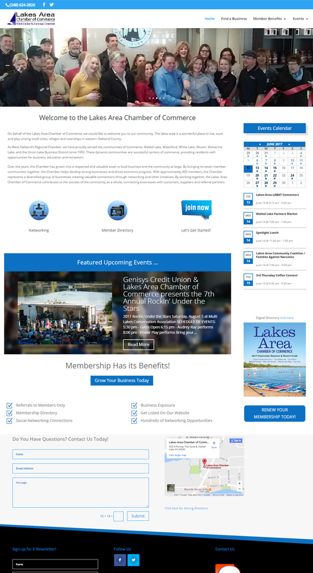 website-for-chamber-of-commerce-in-michigan